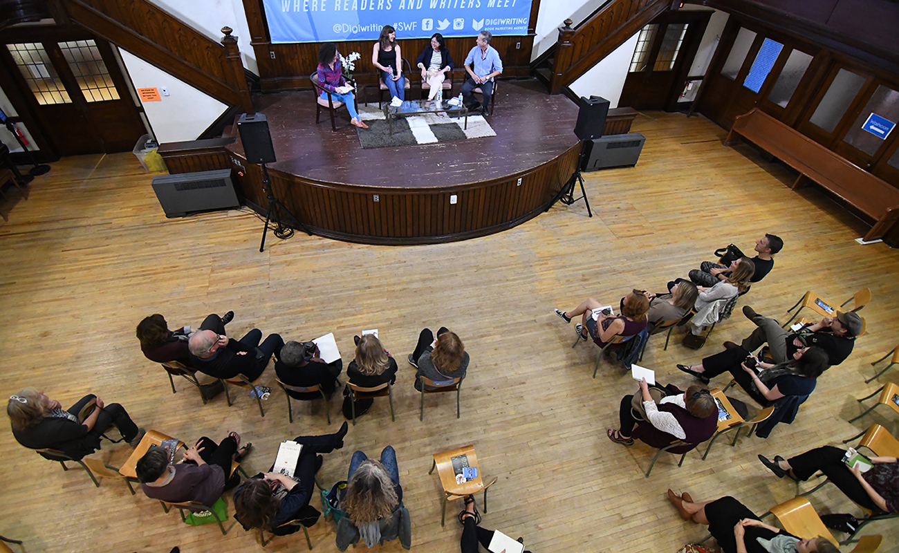 Panel at the Stratford Writers Festival