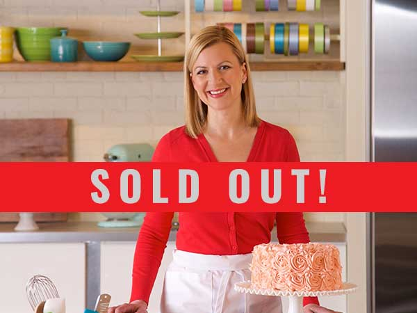 Anna Olson appearing at Stratford's Appetite for Words