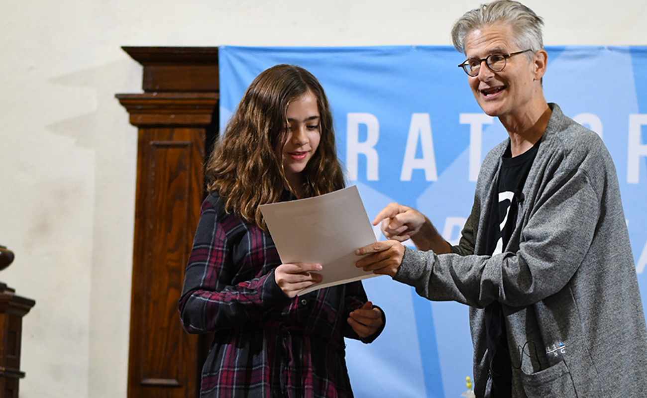 Short Story Prize winner at the Stratford Writers Festival