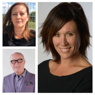 Stratford Writers Festival 2019 Authors Lise Leblanc, Becky Blake, and David Stone
