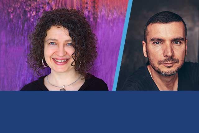 Stratford Writers Festival Guests Heidi Sander and David Eliakis